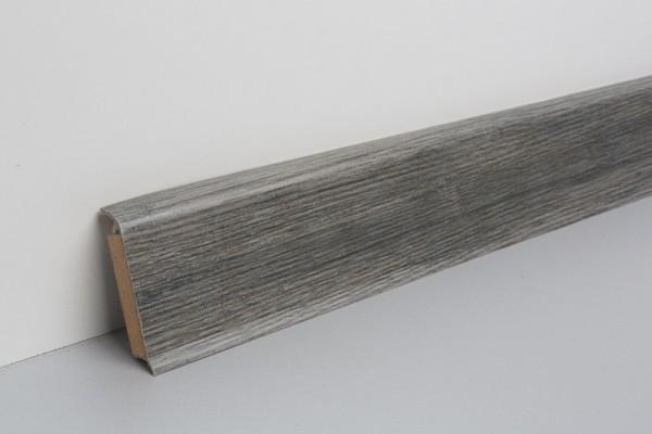 Kernsockelleiste Vinyl MHV 60 Eiche schwarz gekälkt