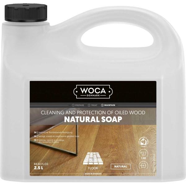 WOCA Bodenseife Natur, Inhalt: 2,5 Liter