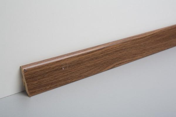 Bodenleiste foliert MHL Nussbaum H2196 L154
