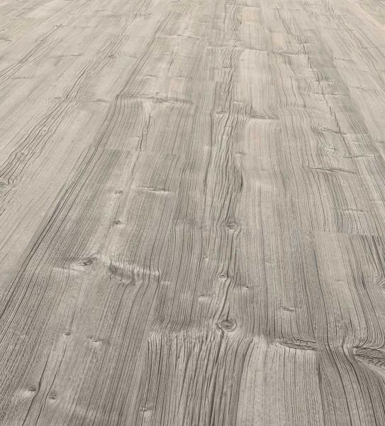 EGGER PRO Comfort Long Korkboden Landhausdiele 1-Stab Huntsville Eiche Grau EPC016, lackiert