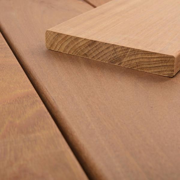 FANO Holz Terrassendiele Ipe, glatt 1830 bis 2740 mm