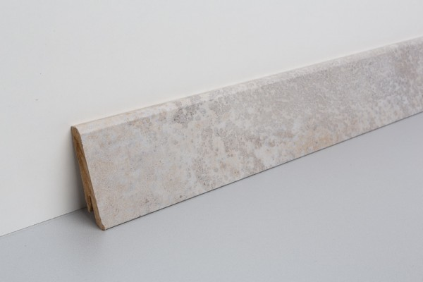 Sockelleiste foliert MSL 60 Schiefer beige Diamond 17x60x2400mm