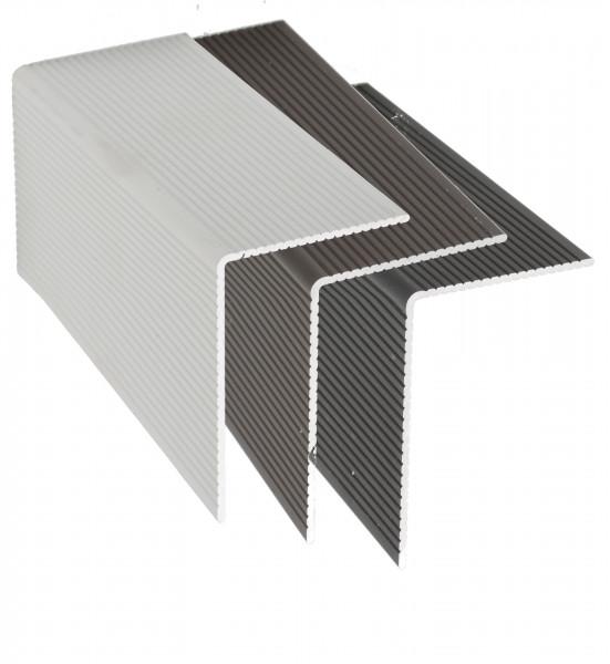 L-Profil aus Aluminium Silber 80 mm