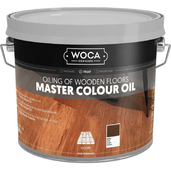 WOCA Meister Colour Öl Antik Nr. 349, Inhalt: 2,5 Liter