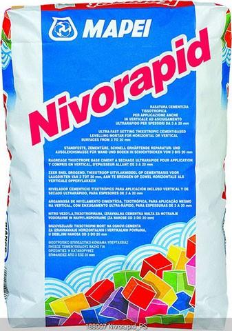 Mapei Nivorapid Spachtelmasse standfest, 25 kg, schnellhärtend