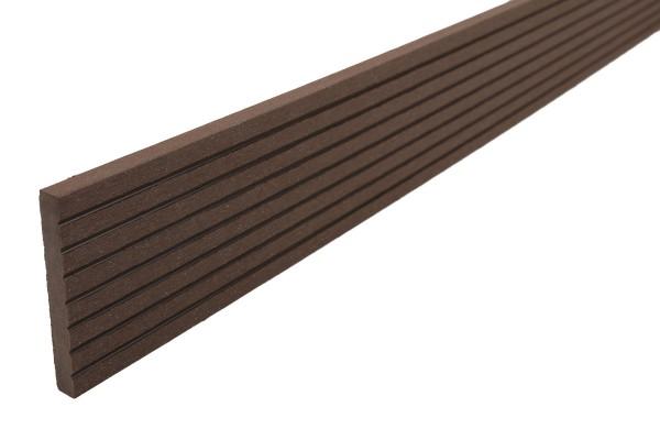 Abdeckleisten Erdbraun für WPC Stärke 25 mm