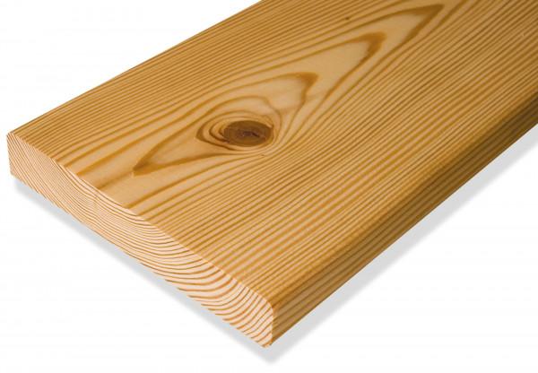 FANO Holz Abschlussblende Lärche sibirisch, glatt