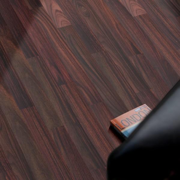 Wood Perfect Parkett 2-Schicht Riemen Palisander Natur, lackiert
