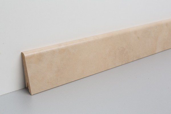 Vinylleisten VinFloors foliert Steindekor Travertin 17x58x2400mm