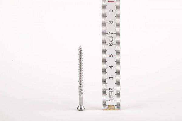 Mini-Linsenkopfschraube mit Bohrspitze