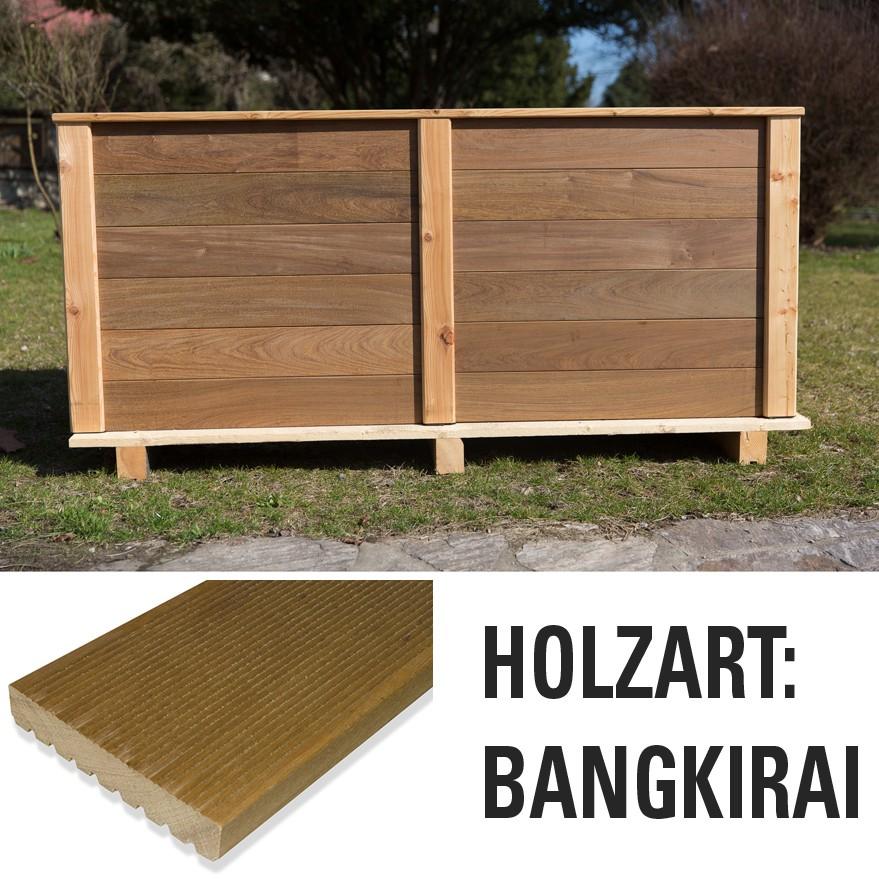 Hochbeet Bangkirai Holz Hochbeete Garten Der Boden Online