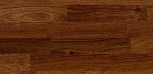 Wood Perfect Parkett 2-Schicht 2-Stab Nußbaum amer. Natur, lackiert