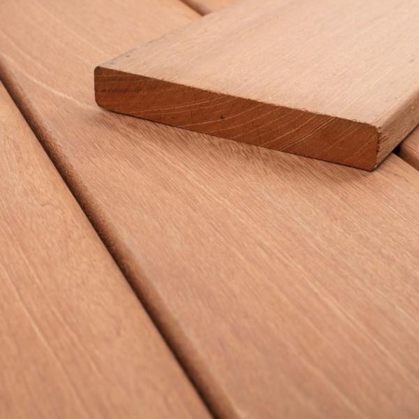 FANO Holz Terrassendiele Bangkirai, glatt 2130 bis 4880 mm