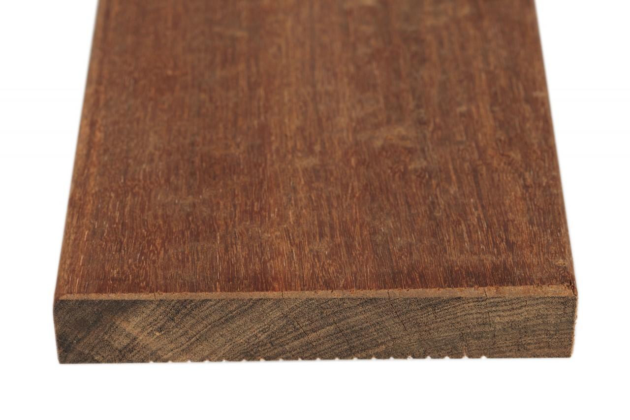 Fano Holz Terrassendiele Ipe Teak Farbgeolt Glatt Hartholz