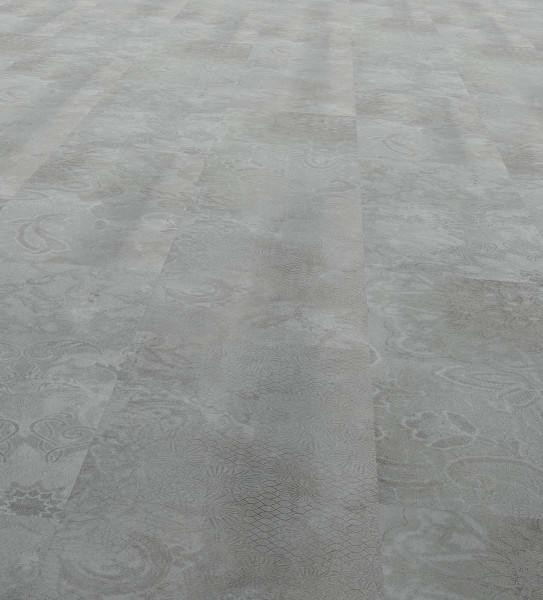 Vinfloors Plank 25 Klebe-Vinylboden Fliesenoptik Ornamento