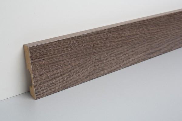 Sockelleiste foliert MHL 70 Eiche DK557, MAGNITUDE Eiche Titanium 14.2x70x2400mm