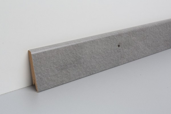 Vinylleisten VinFloors foliert Steindekor Beton 17x58x2400mm