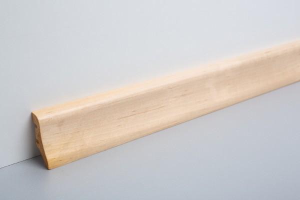 Sockelleiste furniert MFL 40 Ahorn lackiert 20x40x2200mm