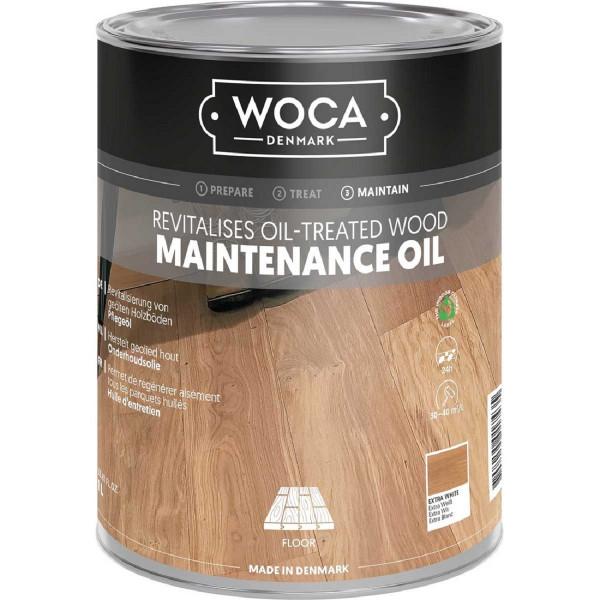 WOCA Maintenance Pflegeöl Extra Weiss, Inhalt: 1 Liter