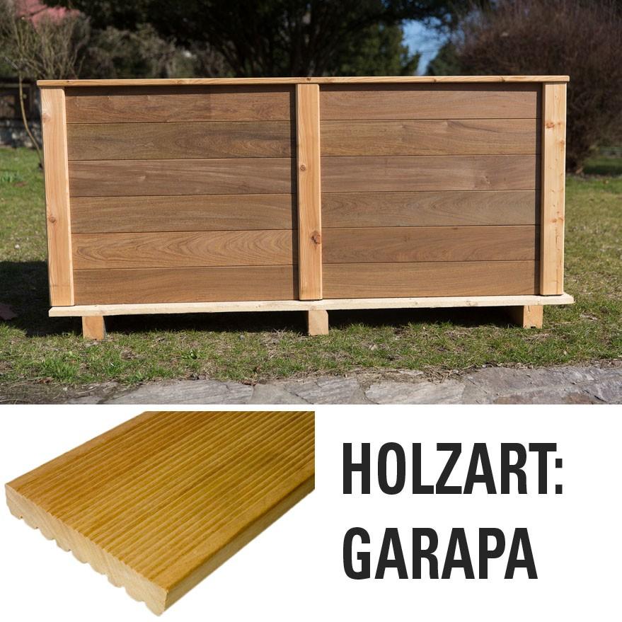 Hochbeet Garapa Bausatz Holz Bausatz Hochbeete Garten Der