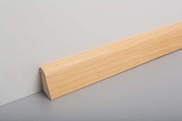 Sockelleiste furniert MSF 40 Fichte/ Kiefer lackiert 19x39x2500mm