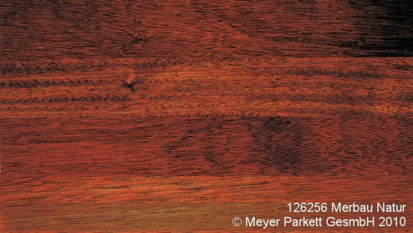 Wood Perfect Parkett 2-Schicht Riemen Merbau Natur, geölt-gewachst