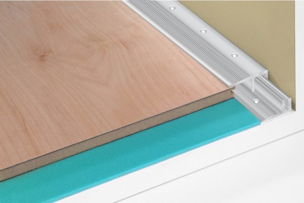 Bodenprofil Abschluss 6-16 mm sandfarben