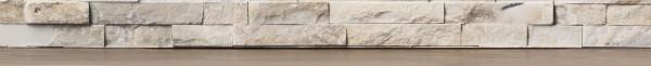 Designleiste Naturstein, mit MDF-Kern, digital bedruckte Folie