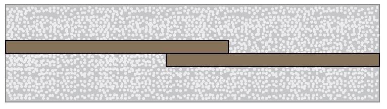 Stossen-der-Montageleisten-Unterkonstruktion-Terrassendielen