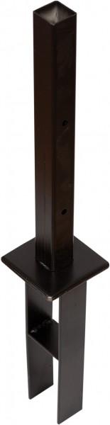 FANO Säulenanker mit Metalldorn, 40 x 40 mm