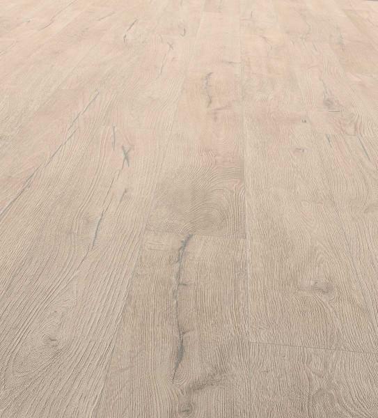 EGGER PRO Comfort Classic Korkboden Landhausdiele 1-Stab Alba Eiche grau EPC013, lackiert