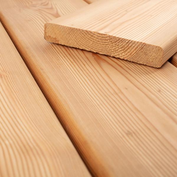 FANO Holz Terrassendiele Lärche sibirisch 24 mm, glatt