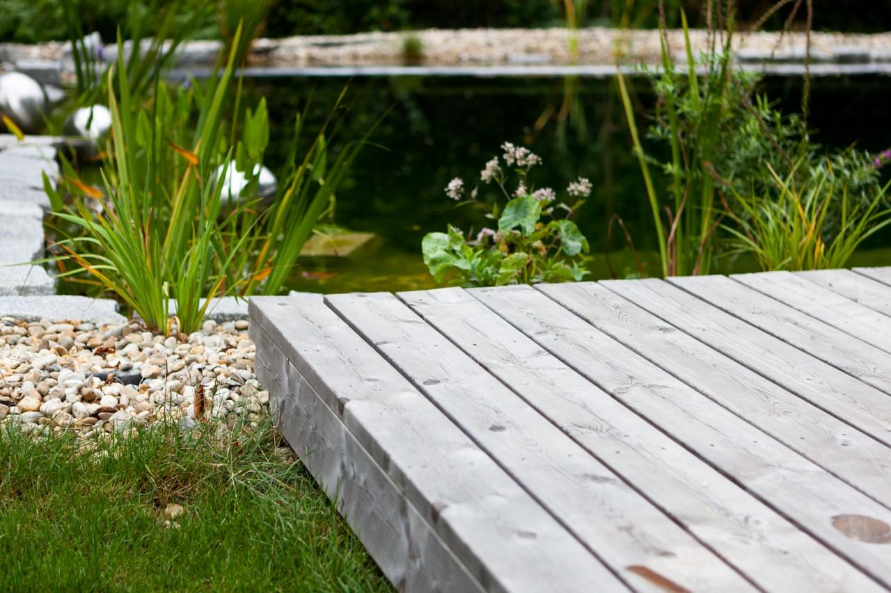 Hervorragend Vergraute Holz-Terrassendielen reinigen und pflegen | Terrasse RK15