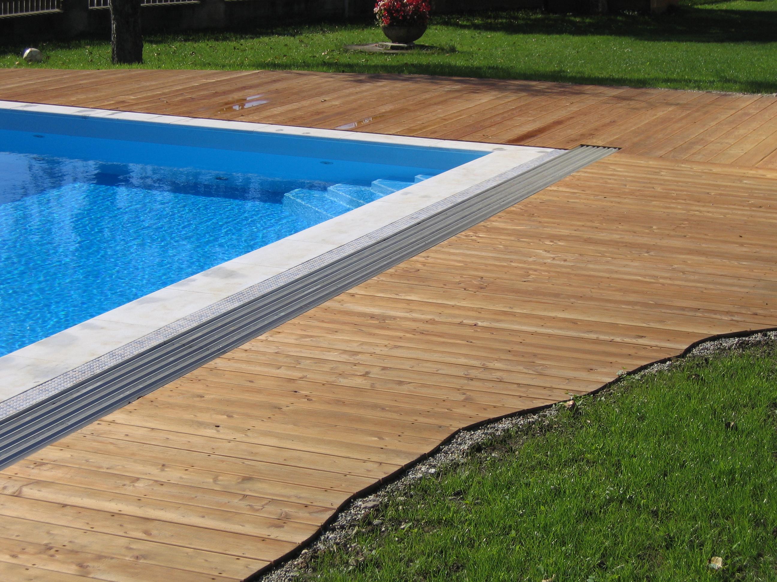 FANO Holz Terrassendiele Lärche sibirisch 20 mm, glatt