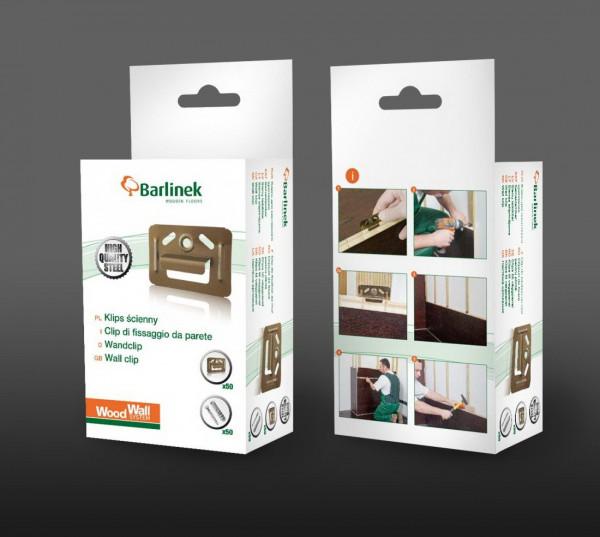 WoodWall Wandclips Metall geeignet für Monarch Fertigparkett