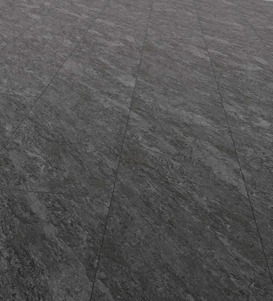 EGGER PRO Comfort Kingsize Korkboden Fliesenoptik Adolari Stein schwarz EPC023, lackiert