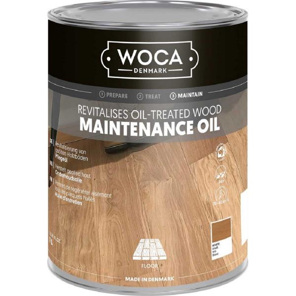 WOCA Maintenance Pflegeöl Weiß, Inhalt: 1 Liter